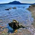 写真: かって死骨湖と呼ばれた湖