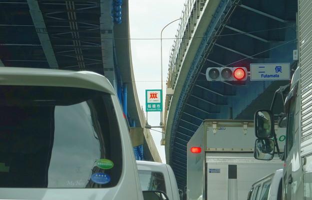 渋滞の車窓から@二俣