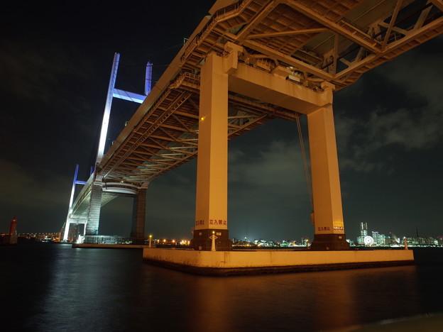 横浜ベイブリッジ(2015.12)