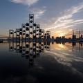 Photos: 埠頭のオブジェ