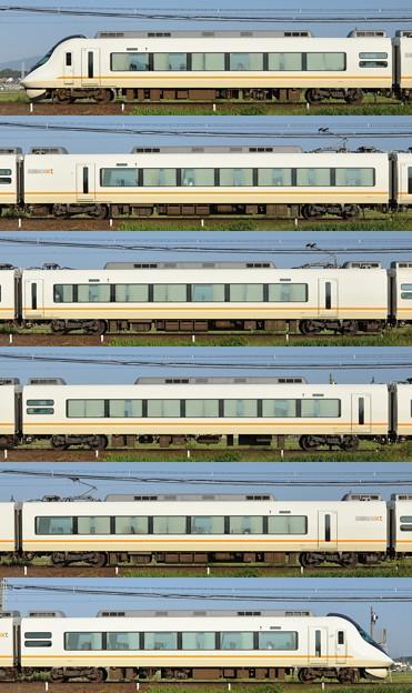 近鉄21020系21121F(UL21)海側側面 2014.09.28