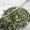 Photos: サントリー 京都 福寿園 伊右衛門 煎茶、抹茶 混ぜる