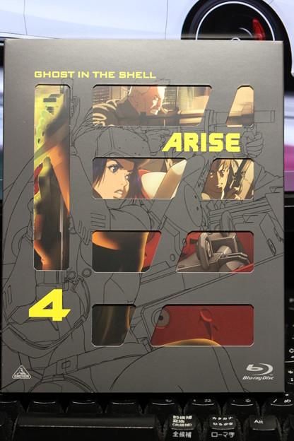 攻殻機動隊 ARISE 4 BD
