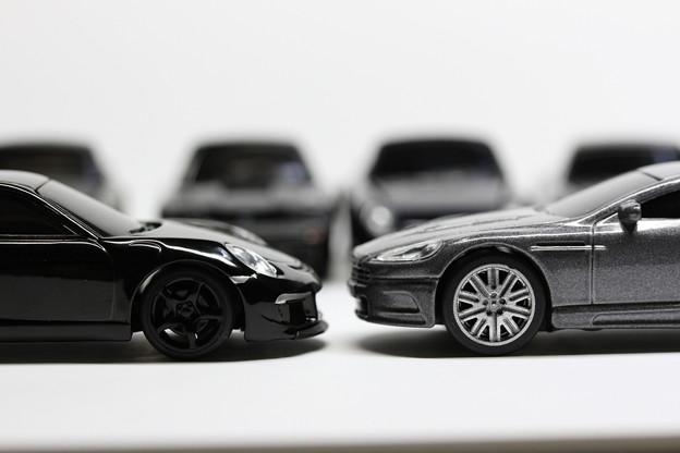 RUF Black Car Collection RUF RT 35 と007 JAMES BOND COLLECTION Aston Martin DBS