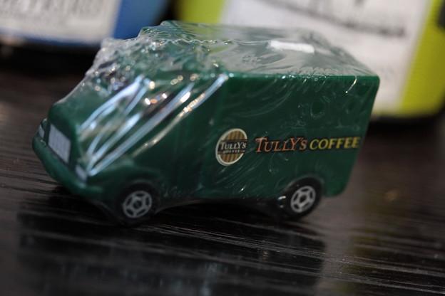 TULLY's 2015 AUTUMN COFFEE BEANS CAMPAIGN LIMITED B賞オリジナル トラックキャンドル