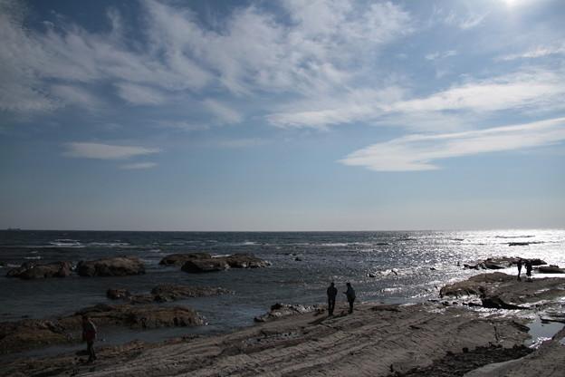Photos: 道の駅ちくら 潮風王国からの荒れる太平洋