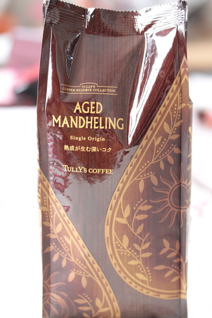 TULLY's CUPPER RESERVE COLLECTION AGED MANDHELING 袋
