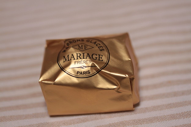 MARIAGE FRERES MARRONS GLACES 包