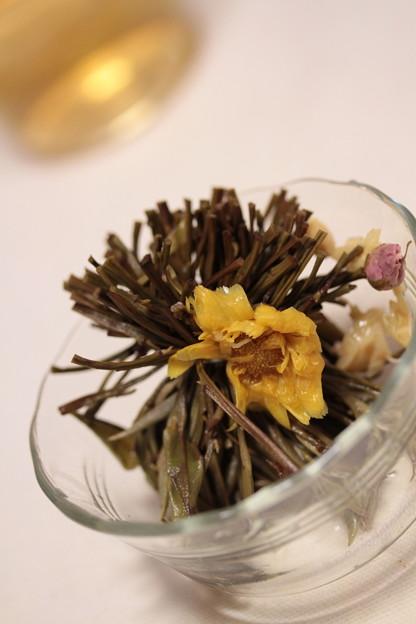 MARIAGE FRERES Sweetheart Tea Heart-Shaped Crafted White Tea 咲いた後