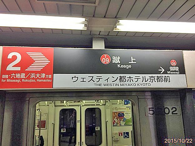 京都市営地下鉄 烏丸御池→蹴上