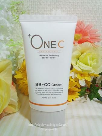 +OneC(プラワンシー) BB+CCクリーム(ファンデーション) (2)