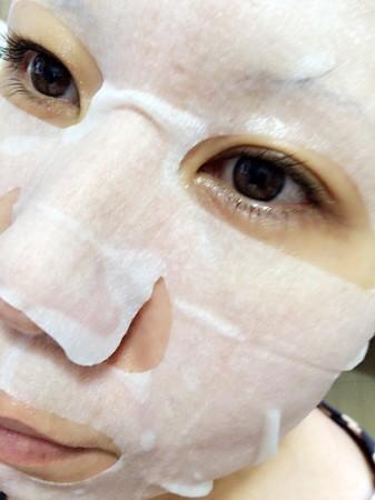 フェイスマスク 青のルルルン (4)