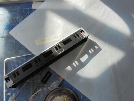 E233-2000 ドア回り加工試作