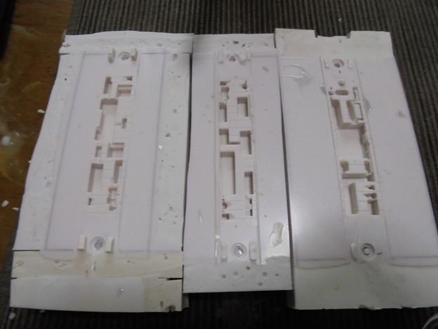 床下機器 シリコーンゴム形 三種類