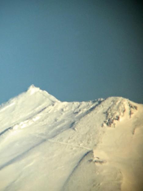 今朝の富士山剣ヶ峰