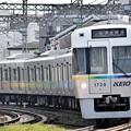 レインボーの電車