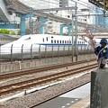 Photos: 新幹線と小便小僧