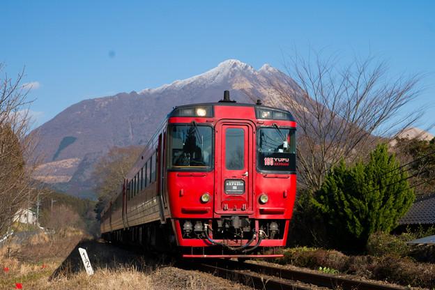 Photos: キハ185系「特急ゆふ」@由布院-野矢