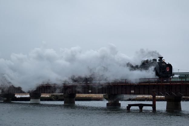 Photos: SL冬の湿原号1