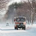 岩手県北バスのボンネットバス