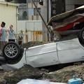 Photos: 台湾高雄の惨劇 まるでダイハードかと思えるような爆発の後・・・ (7)