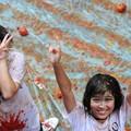 Photos: やっぱりパクリだよな、このトマト祭り(笑)by瀋陽 (4)