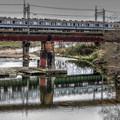 写真: 100年前の橋梁