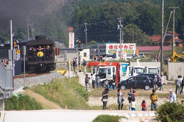 Photos: 20141019  SL「やまぐち」号下り@鍋倉