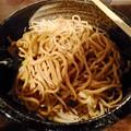 Photos: 麺屋きくち まぜめん 麺アップ