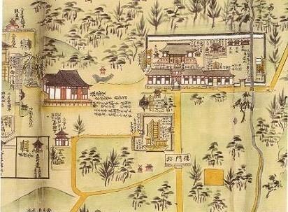 東大寺上院エリア