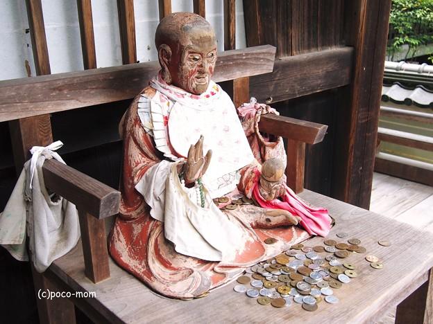 京都勝持寺(花の寺)びんずる尊者2014年07月21日_P7210091
