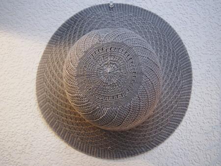 100均の帽子