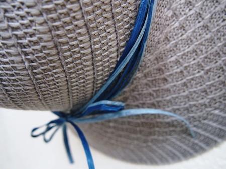 100均の帽子を飾る2014年08月21日_P8210162