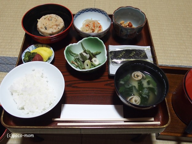 高野山光台院の食事