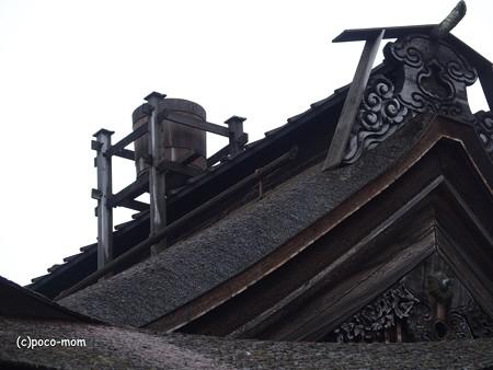 金剛峯寺 天水桶 PB020419