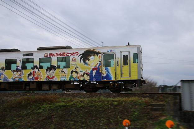 ラッピング列車 コナン