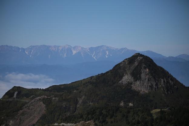 笠ヶ岳と北アルプス