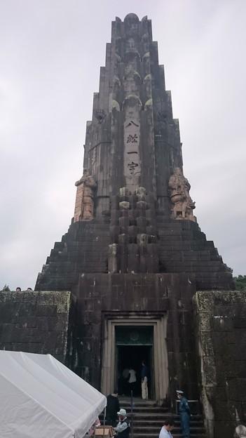 宮崎県立平和台公園「平和の塔内部見学会」10