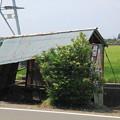 古いバス停