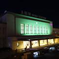 夜の上野駅