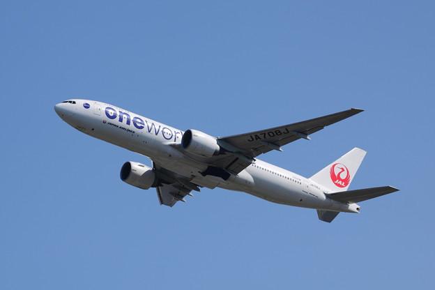 日本航空ワンワールド特別塗装機