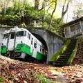 Photos: 只見線 不動沢トンネル