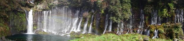 Photos: 白糸の滝 パノラマ