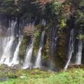 白糸の滝 パノラマ