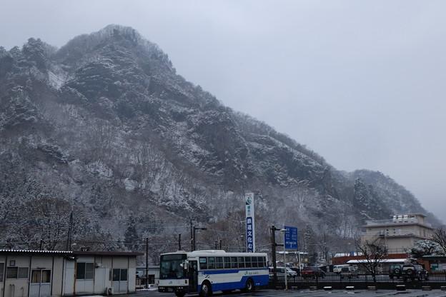 雪の龍駒山