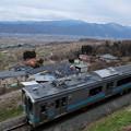 写真: 姨捨駅からの眺望
