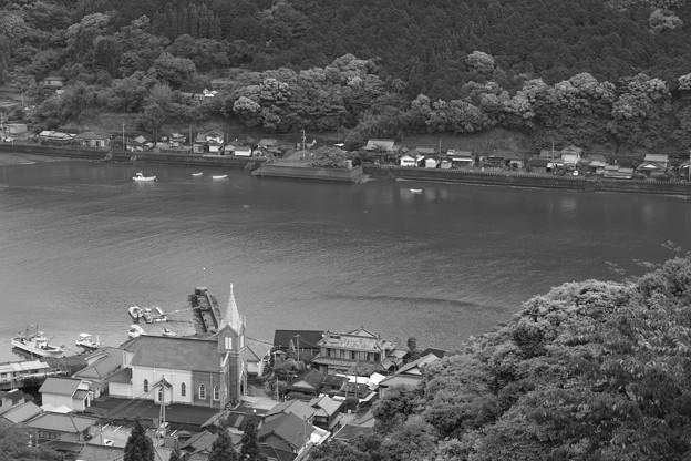 漁村の天主堂