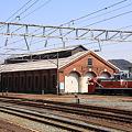 糸魚川駅 赤レンガ車庫