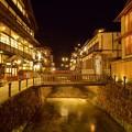 写真: 琥珀色の街