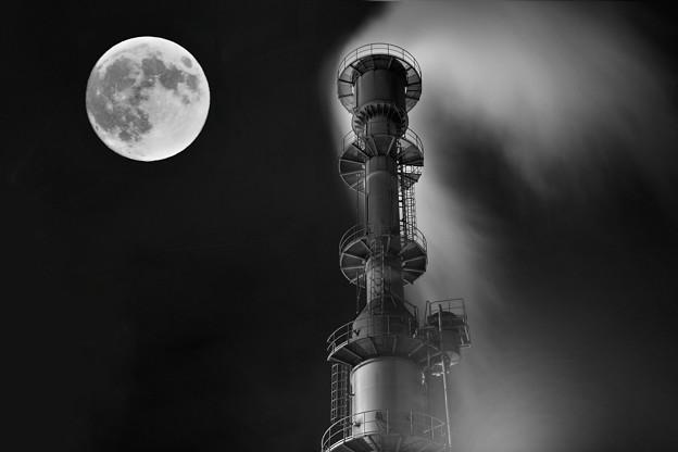 Photos: 月を撃つ